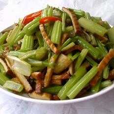辣炒香干芹菜