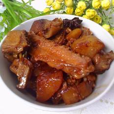 萝卜焖鸭块