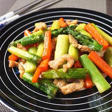 芦笋炒肉丝的做法大全