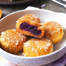 紫薯南瓜饼