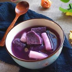 紫薯年糕湯
