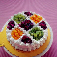 水果戚风蛋糕