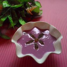 酸奶紫薯糊的做法