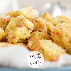 松茸豆腐丸子|牛佤松茸食谱