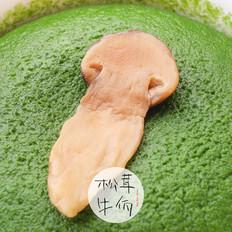 松茸菠蛋蒸|牛佤松茸食谱