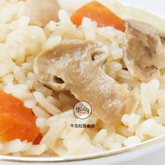 鸡肉松茸焖饭 牛佤松茸食谱