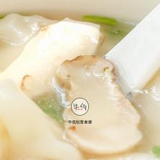 松茸鸡汤馄饨|牛佤松茸食谱
