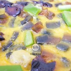 焦糖松茸摊鸡蛋 牛佤松茸食谱的做法