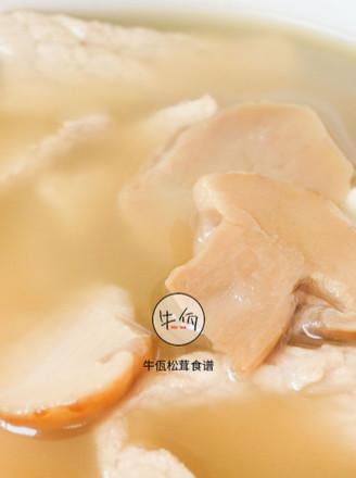 松茸瘦肉汤 牛佤松茸食谱的做法