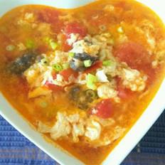 西红柿海参汤