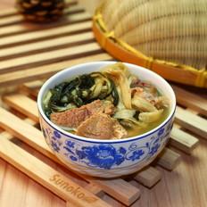 广东老火靓汤-南北杏菜干益肺汤
