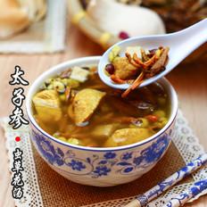 广东老火靓汤-太子参虫草花汤