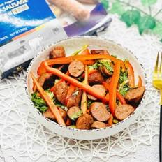 牛肉肠蔬菜沙拉