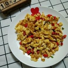 小米椒炒鸡蛋