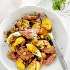 制造饱腹感的土豆沙拉