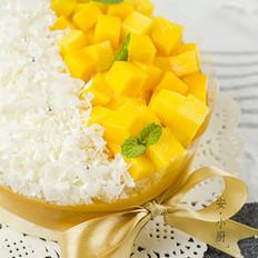 清爽细腻的酸奶芒果慕斯蛋糕