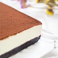 夏日免烤—黑白巧克力慕斯蛋糕
