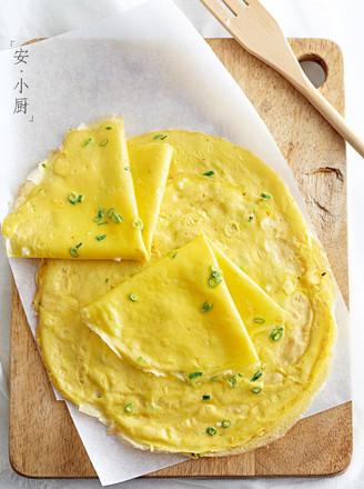 葱花蛋饼的做法