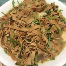香菜炒豆腐皮