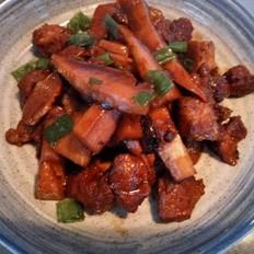 竹笋焖猪肉