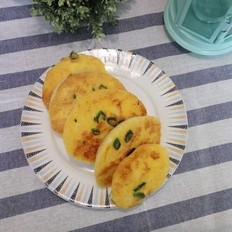 葱香鸡蛋煎馒头片