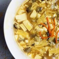 豆腐菌菇羹