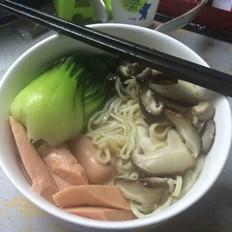 香菇油菜面