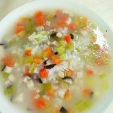营养美味蔬菜粥