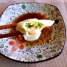 黄瓜虾仁鸡蛋三鲜水饺