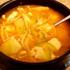 韩式酱汤喝起来