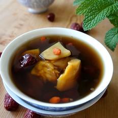 三红枣杞糖姜水