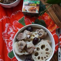 秋季润燥排骨炖藕