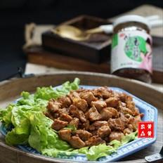 干煸猪肉粒#午餐#的做法