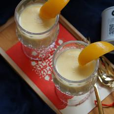 清甜解酒的黄桃奶昔的做法
