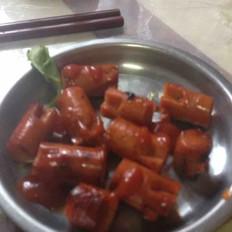 紅燒火腿腸