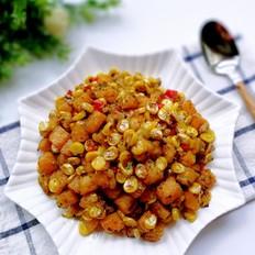 椒盐红薯玉米粒
