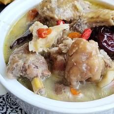 榴莲炖鸡~汤鲜味美