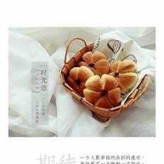 花朵椰蓉面包