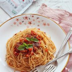 意大利胡萝卜肉酱面
