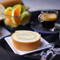 细腻清爽感扑面,抹茶奶油蛋糕卷
