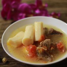番茄山药炖牦牛肉