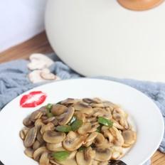 耗油蘑菇的做法