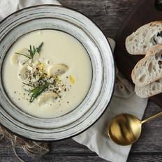 奶油蘑菇浓汤-Vitamix版