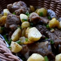 椒盐土豆排骨