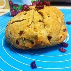 蓝莓燕麦面包