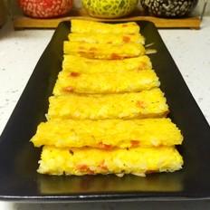 米饭火腿鸡蛋饼