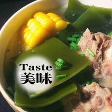 「简易版」海带玉米排骨汤