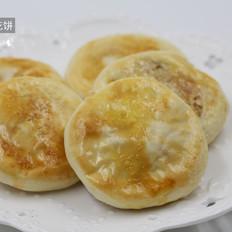 香酥槐花饼