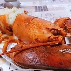 波士顿龙虾海鲜粥