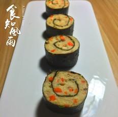 鸡胸肉紫菜卷